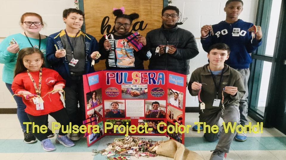 The Pulsera Project- Color The World!