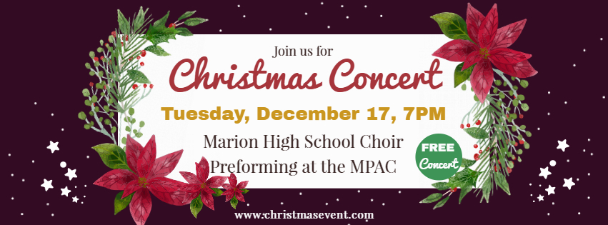 MHS CHOIR CONCERT at the MPAC!!