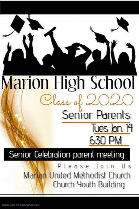 PARENTS: Senior Celebration Meeting