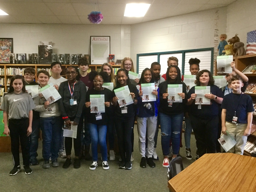 7th Grade Students Honored For Duke University Talent Identification Program