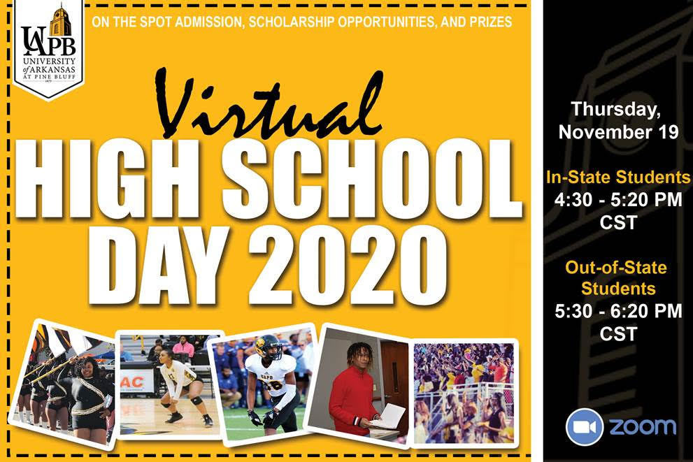 UAPB Virtual High School Day