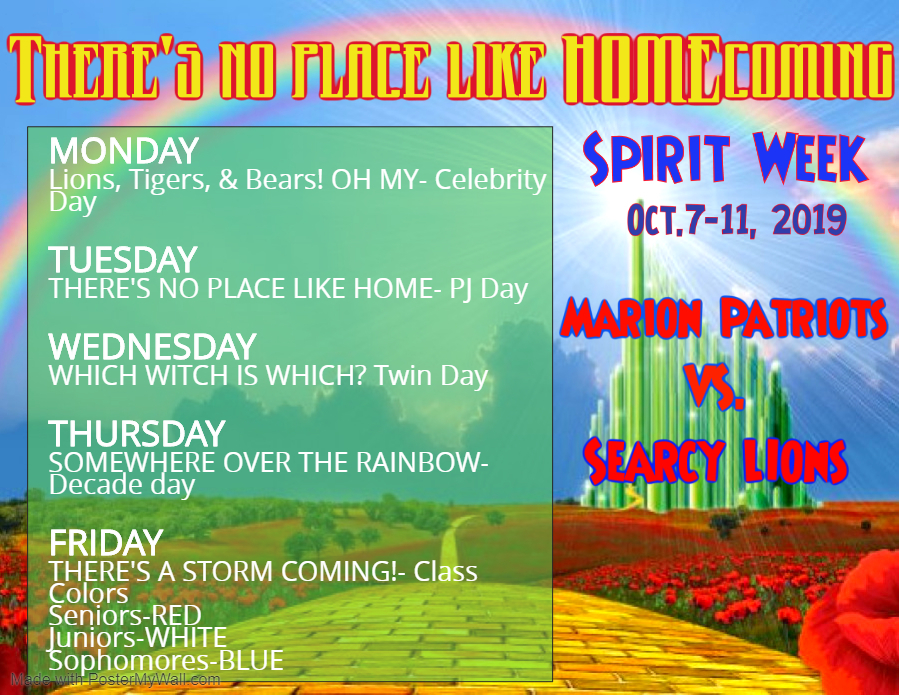 MHS Spirit Week 2019