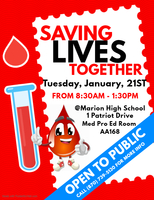 Save Lives, Give Blood!