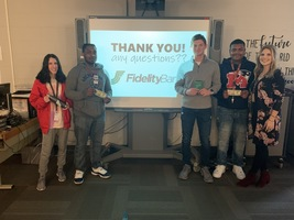 Fidelity Bank gives $10 each to student winners