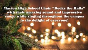 "MHS Choir ""Decks the Halls"""