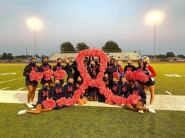 Marion Patriots support Breast Cancer Awareness Month