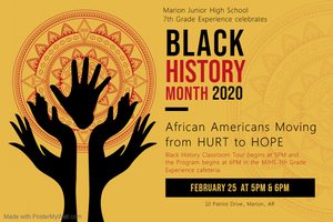 MJHS 7th Grade: Celebrates Black History Month