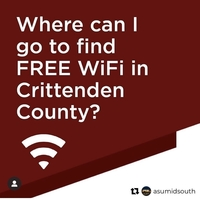 Free WiFi in Critt. Co.