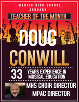 Doug Conwill Teacher of the Month