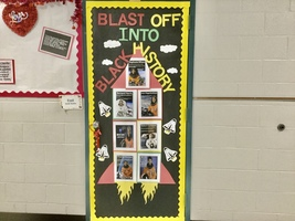Blasting Off Into Black History Month at The 7th Grade Experience!