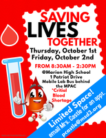 2020 MHS Blood Drive