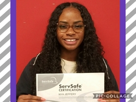 Congratulations Nya Jeffery