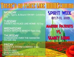 2019 MHS Homecoming Week