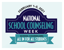 School Counselors celebrate during National School Counseling Week, Feb. 1–5, 2021