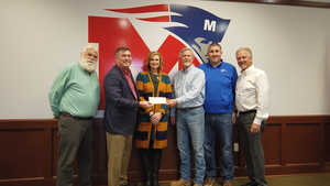 First Marion Remembers Elmer West with Donation to MSD Foundation