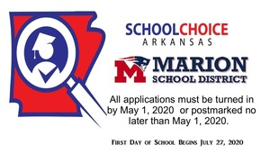 SCHOOL CHOICE - May 1st Deadline