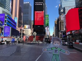 Flat Stanley in NYC