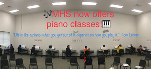 ❤️🎹MHS OFFERS PIANO LESSONS!!!🎹❤️