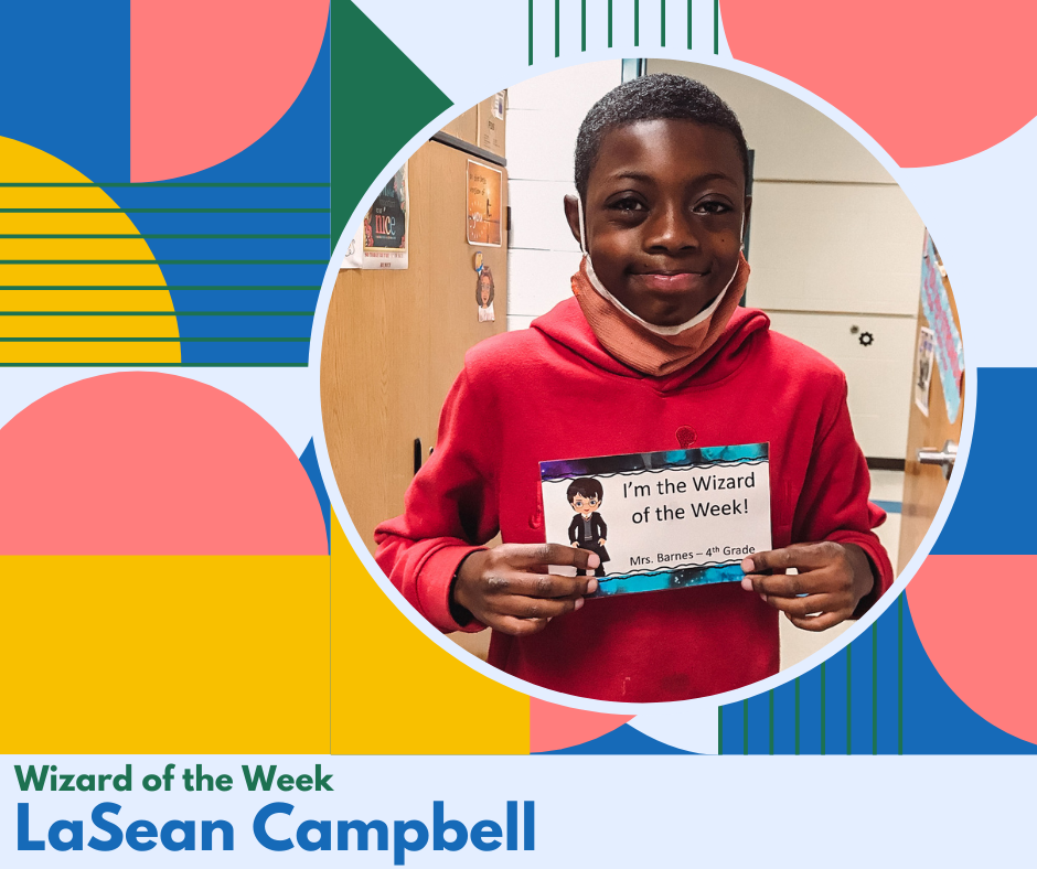 Wizard of the Week-LaSean Campbell