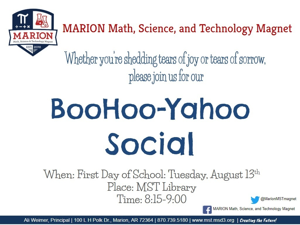 BooHoo Yahoo Event Flyer