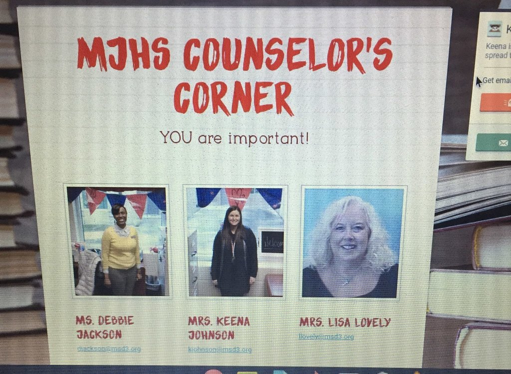 Counselor´s Corner