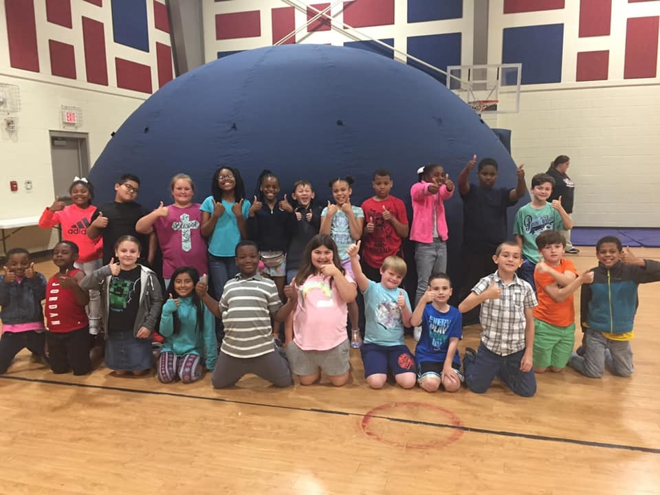 ASU Mid-South's Mobile Planetarium Show