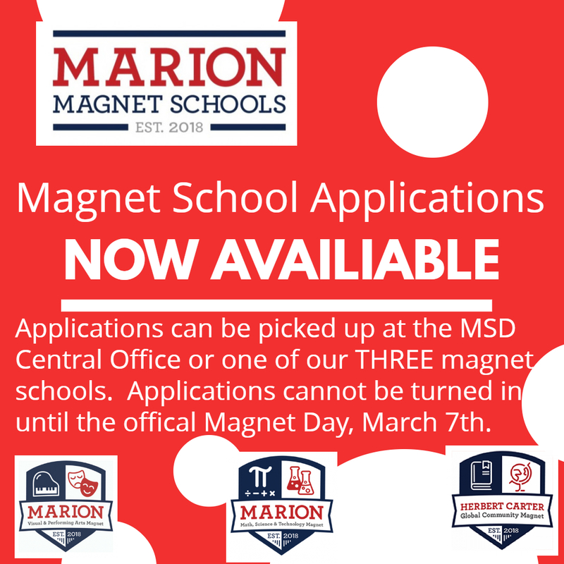 Magnet School Applications Available Now