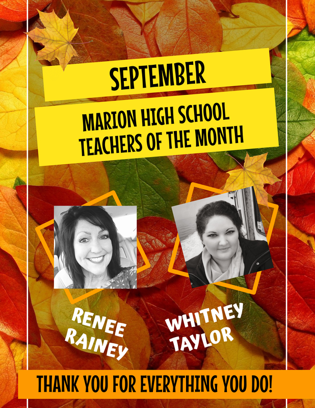 Congrats Renee Rainey and Whitney Taylor!