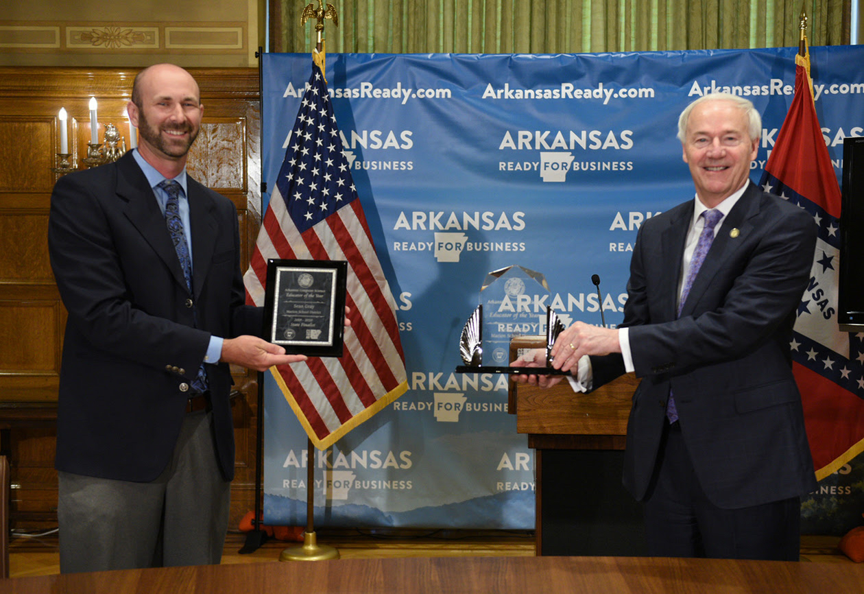 Marion School District Teacher Named 2020 Arkansas Computer Science Educator of the Year
